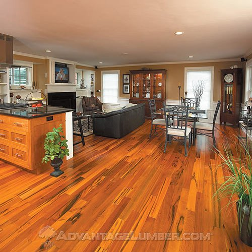 Laminate Flooring: Tigerwood Laminate Flooring