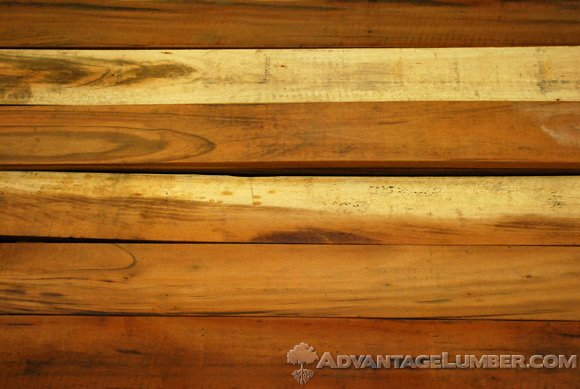b-grade tigerwood decking