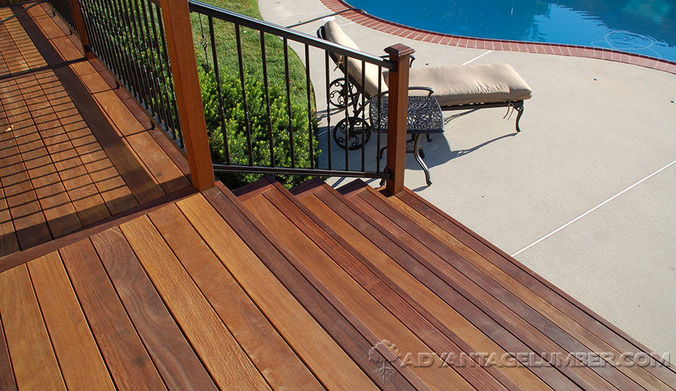 Beautiful Ipe Deck
