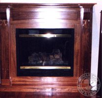 jatoba fireplace