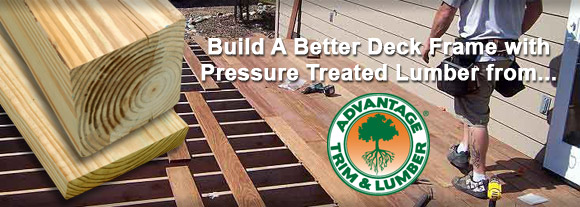 pressure treated banner