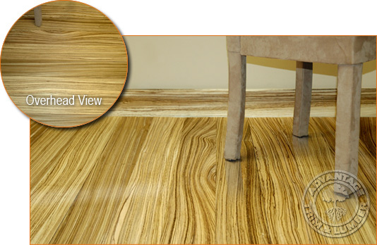 Zebrawood Flooring - Exotic Hardwood Flooring At Factory Direct Prices